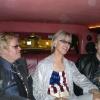 Avec les sosies d'Elton John et Patrick Juvet