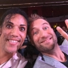 Avec le comédien Aymeric Dapsence