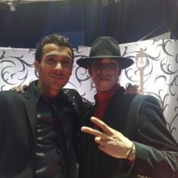 Avec Mustapha el Atrassi