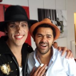 Avec Jamel Debbouze
